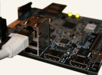 Pandaboard Ethernet et USB