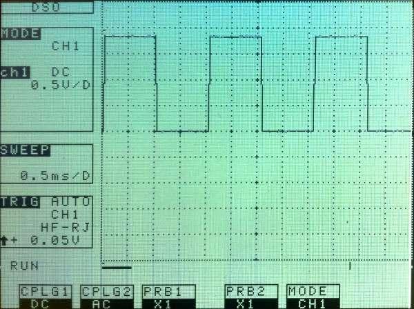 Oscillateur GPIO par programme C - Temps réel souple