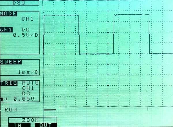 Oscillateur GPIO par script shell