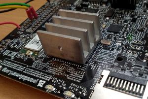 Dissipateur thermique sur processeur OMAP