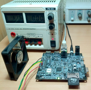 Ventilateur sur processeur OMAP
