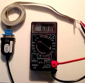 Signal RTS actif sur port RS-232