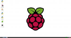 Environnement graphique de Raspbian