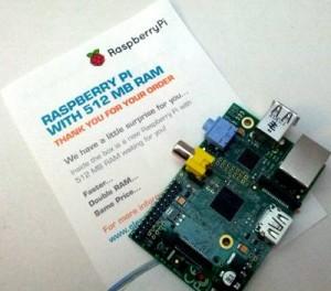 Raspberry Pi - 512Mo