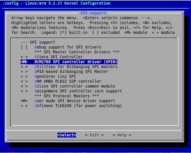 Kernel  SPI Driver Raspberry-Pi