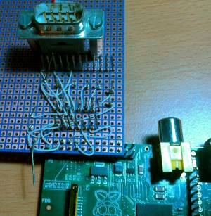 Raspberry Pi et Max232