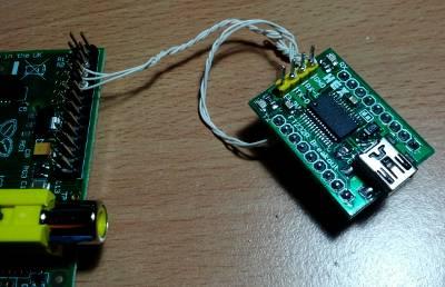 Raspberry Pi et adaptateur USB