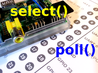 GPIO select() poll()