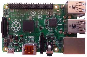 Raspberry Pi B+ recto