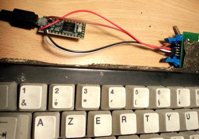 Bidouilles et nostalgie] USB ifions un clavier de PCXT