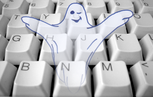Ghost in the keyboard
