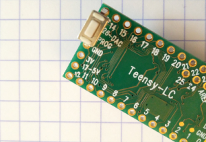 Teensy Lc & button